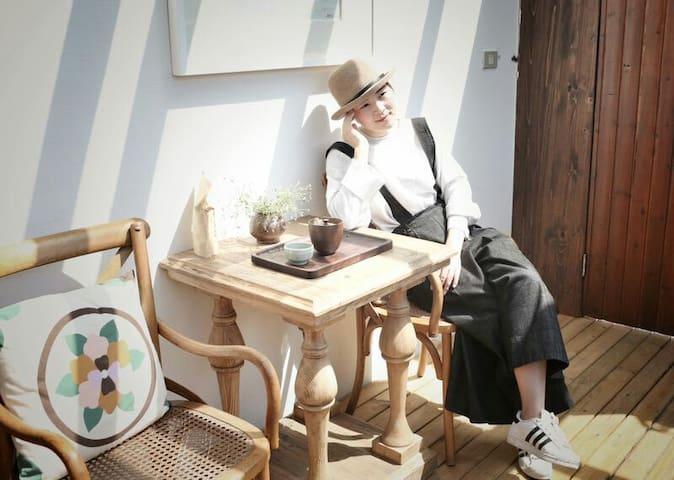 仰望星空的露台大床房 - Lishui - Apartment