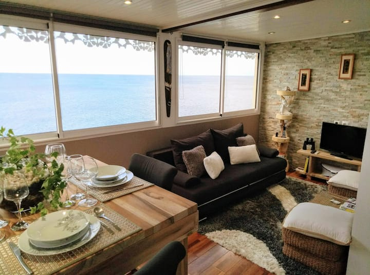 Appartement vue panoramique mer