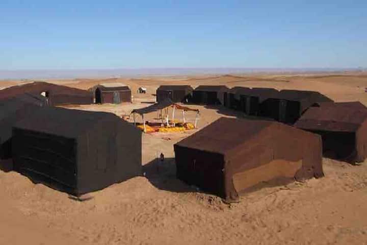 Bivouac Sahara time