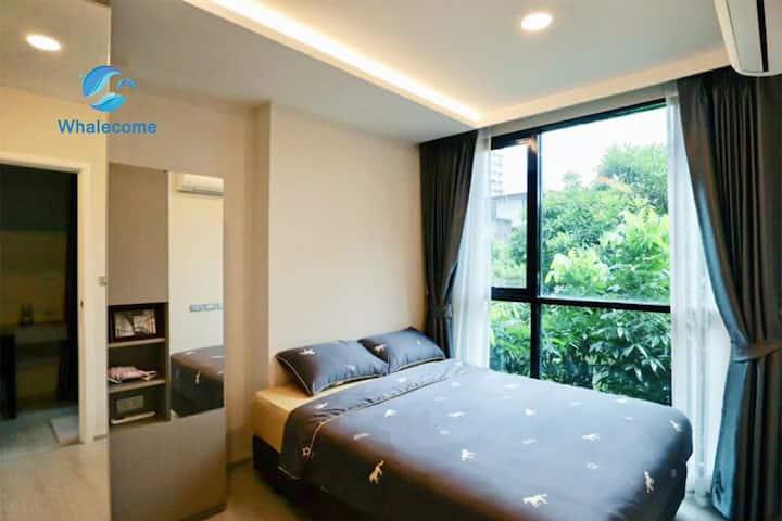 日本富人高档花园公寓,一室一厅