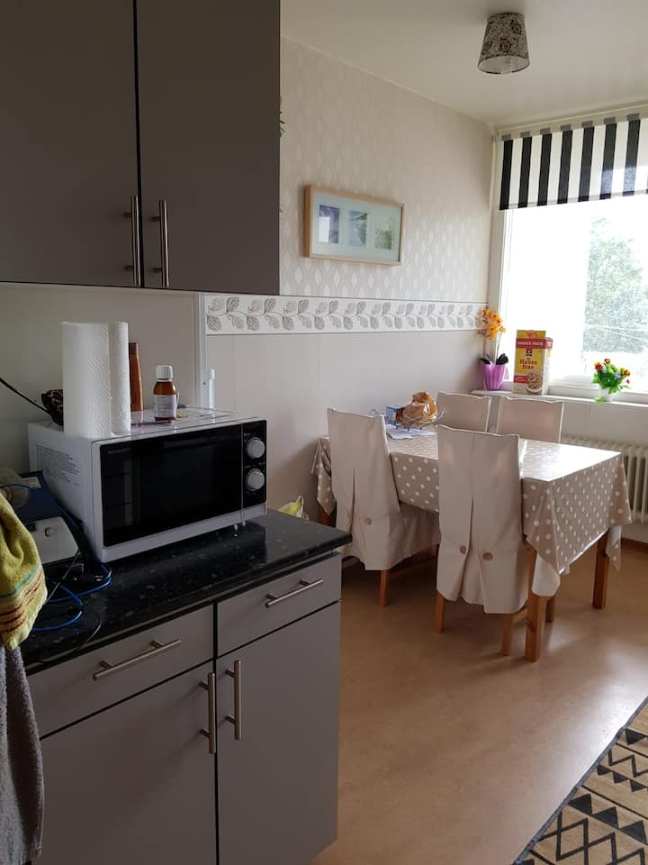 Whole/shared living available near metro stockholm