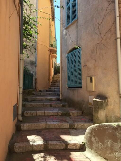 Ruelle rue Panisse