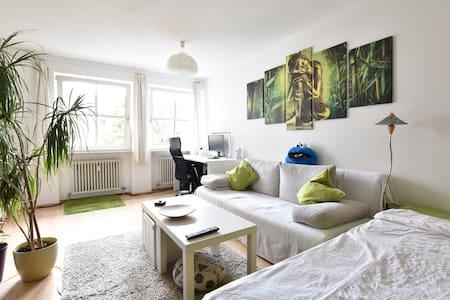 Cozy & Bright Apartment, 10 Mins into City Center - Munich
