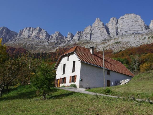 Les Clarines, pour 10 personnes, randonnées, calme - Saint-Andéol - Haus