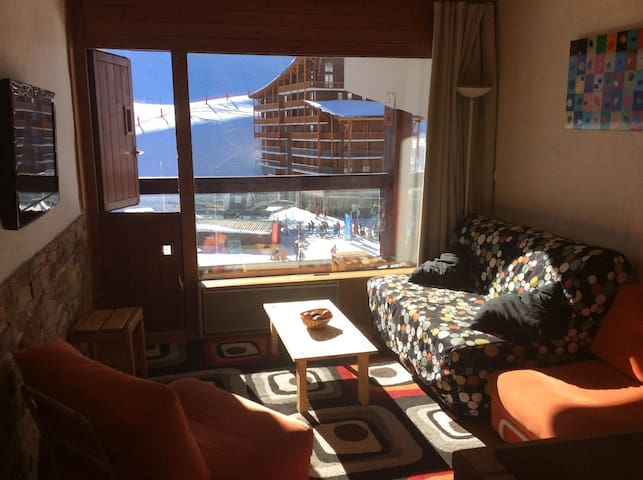 Appartement cosy & neuf Arc 2000 -  front de neige - Bourg-Saint-Maurice - Apartemen