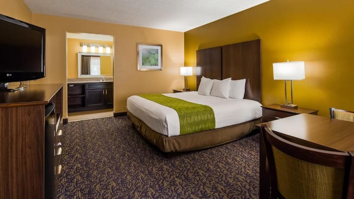 Spledid Room Double Bed Non Smoking At Pigeon Forge