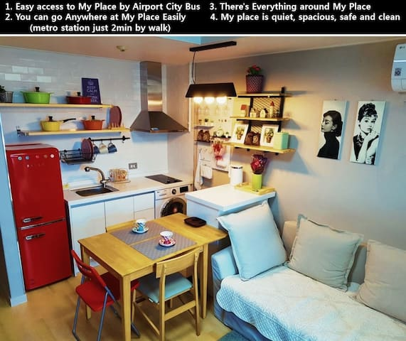 ★3rd New open  Dongdaemun-gu cozy studio 1min~!!