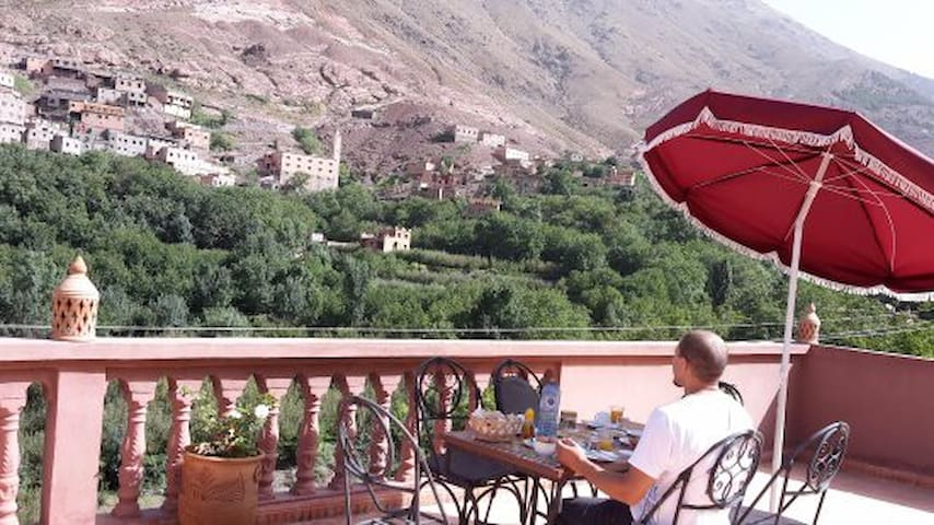 Atlas Imoula Guest House, Accommodation in Imlil - Marraquexe - Bed & Breakfast