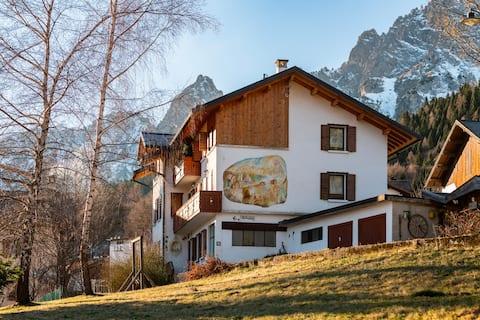 Apartment Dolomiti Monti del Sole -ebike recharge