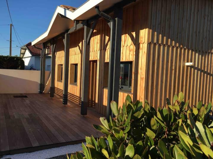 Villa Frangipani 8p, Océan 230m Plage sud Wifi