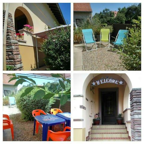 Vacances en Alsace ,à la campagne - Baldenheim - Wohnung