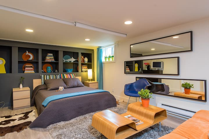 Close-in Private Swanky Studio! - Portland - Apartmen