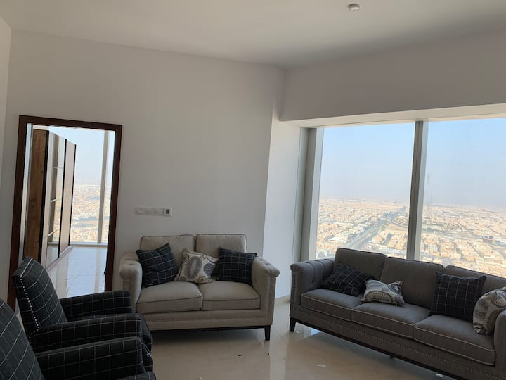Fancy apartment in Rafal tower on 54th floor