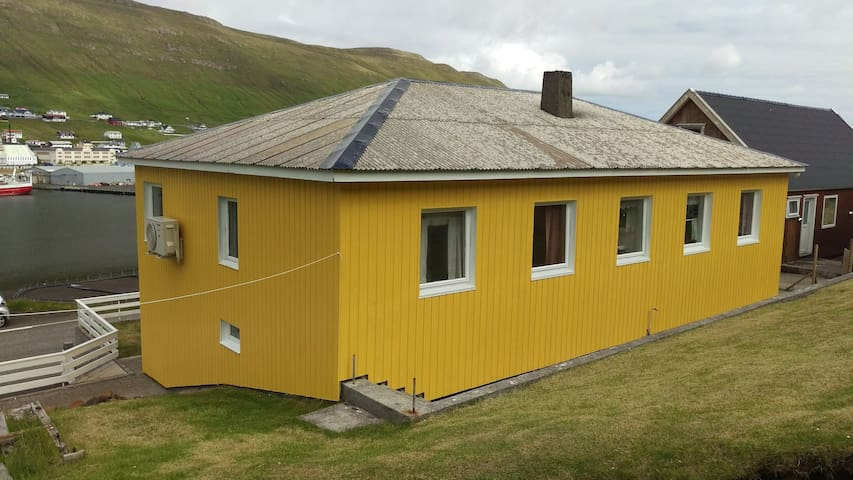 Family house near the sea in Suduroy/Faroe Island