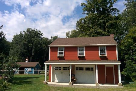 Private apartment on beautiful farm - Easton - Daire