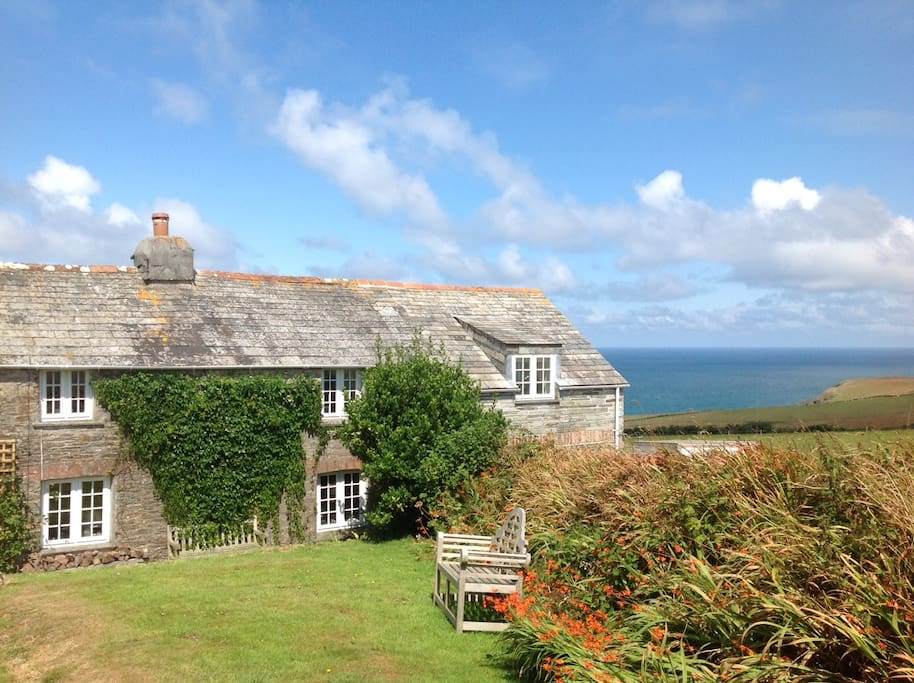 The cottage is in splendid isolation with spectacular views