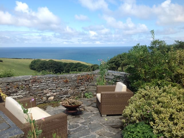 Stunning views, charming farmhouse.