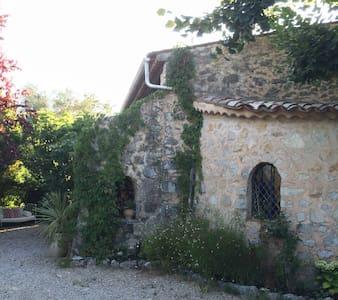 Stylished Old Mas Provencale - Saint-Cézaire-sur-Siagne