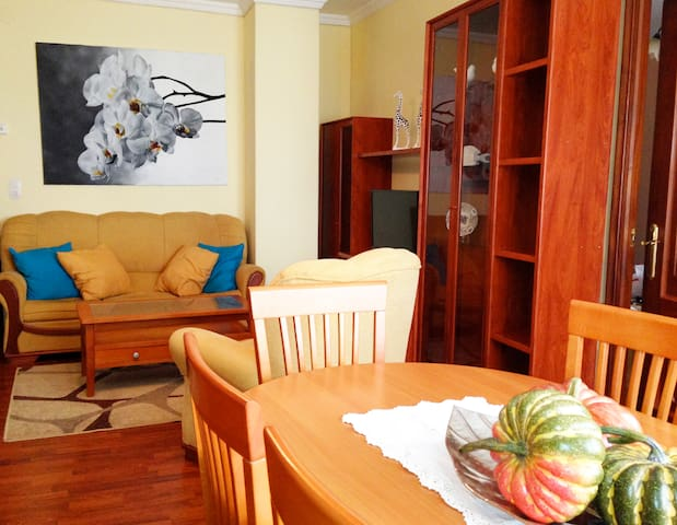 Piso Céntrico Con Terraza - Monforte de Lemos - Apartamento