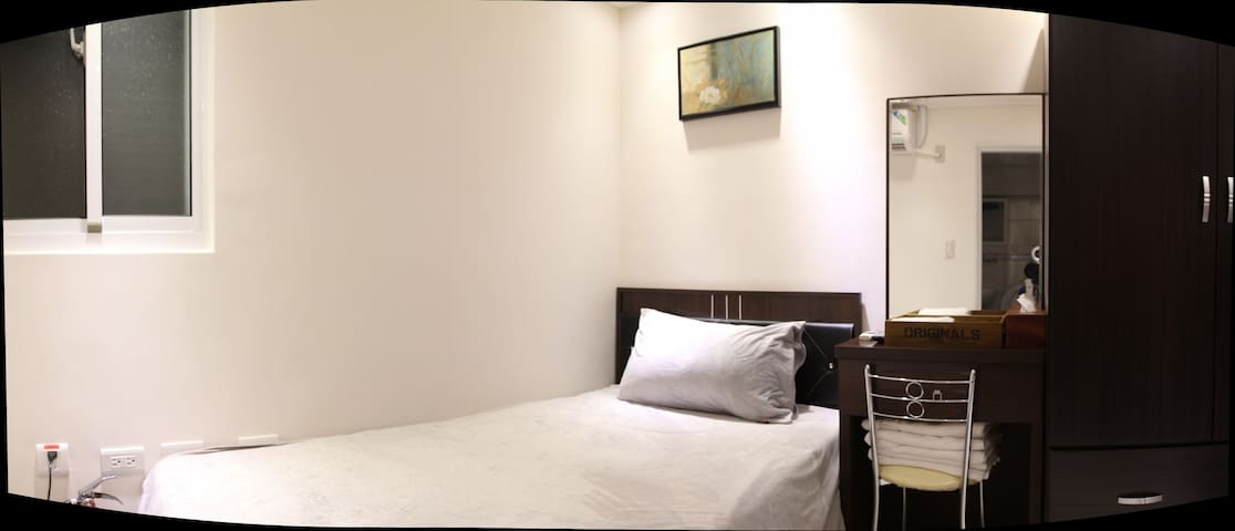 Kaohsiung Airport Siaogang MRT RoomD Single ROOM - Xiaogang District