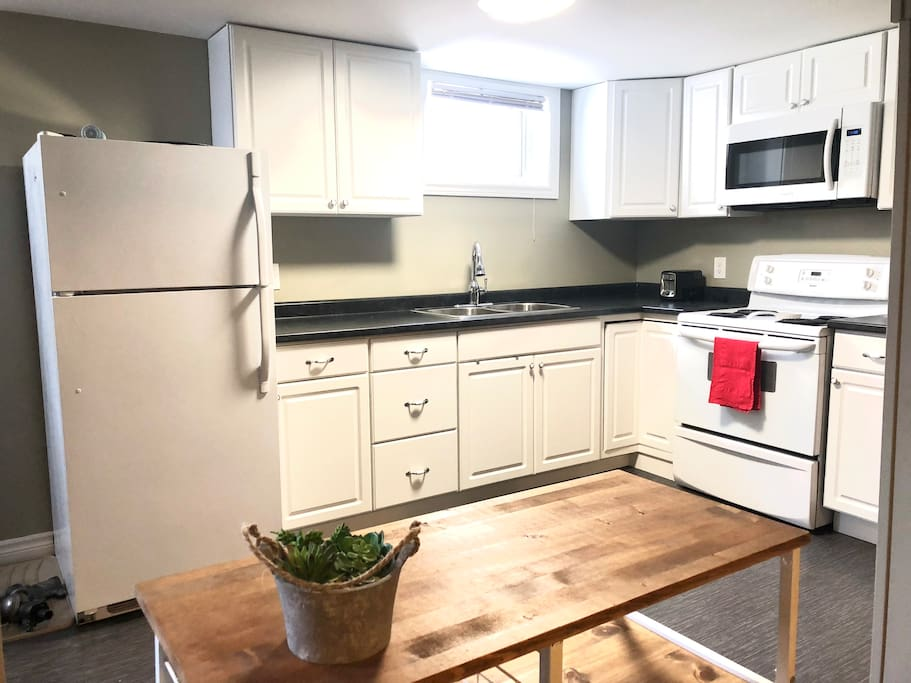 Kitchen with everything needed to enjoy your stay