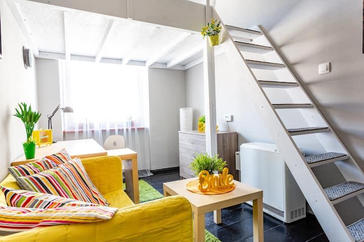 zielony pokój z antresolą nr 2