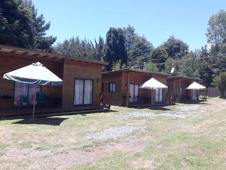 Cabaña en Caburgua montañas, lago más termas 2