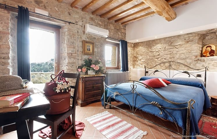 Agriturismo Vald'Orcia -Quirico Apt - Castiglione - Apartament