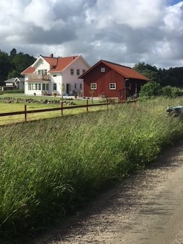 New built country house on the Swedish westcoast