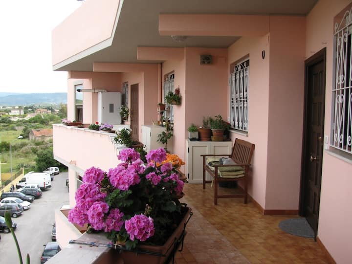 Große Wohnung mit Mittelmeerblick