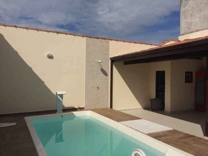 Casa de Praia, piscina e lazer para família
