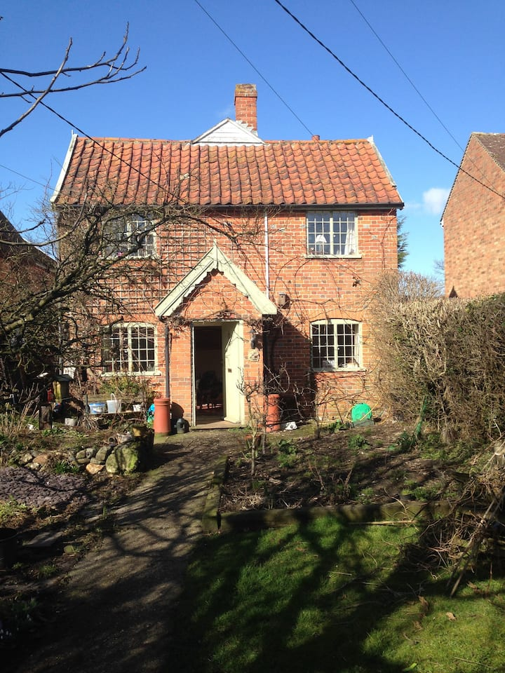 Cosy Cottage in the heart of Suffolk.