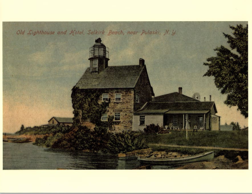 Historic Postcard of the Lighthouse