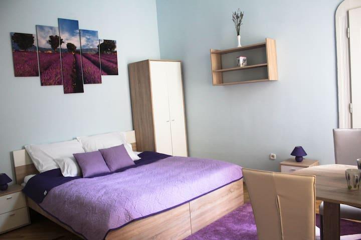 Lavender Warmth Apartment - Budapeszt - Apartament