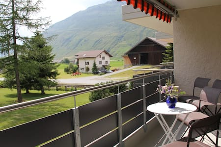 Modern flat with beautiful views - Andermatt