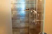 Master suite 1 walk-in shower
