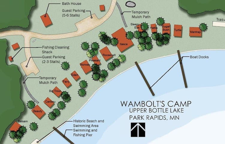 Wambolt's Camp - Cabin 7 - Park Rapids - Cabin