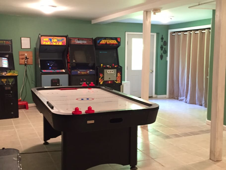 Game Room; Laundry