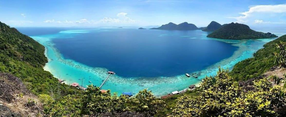 Day Trip to Tun Sakaran Marine Park - Semporna - Chalupa
