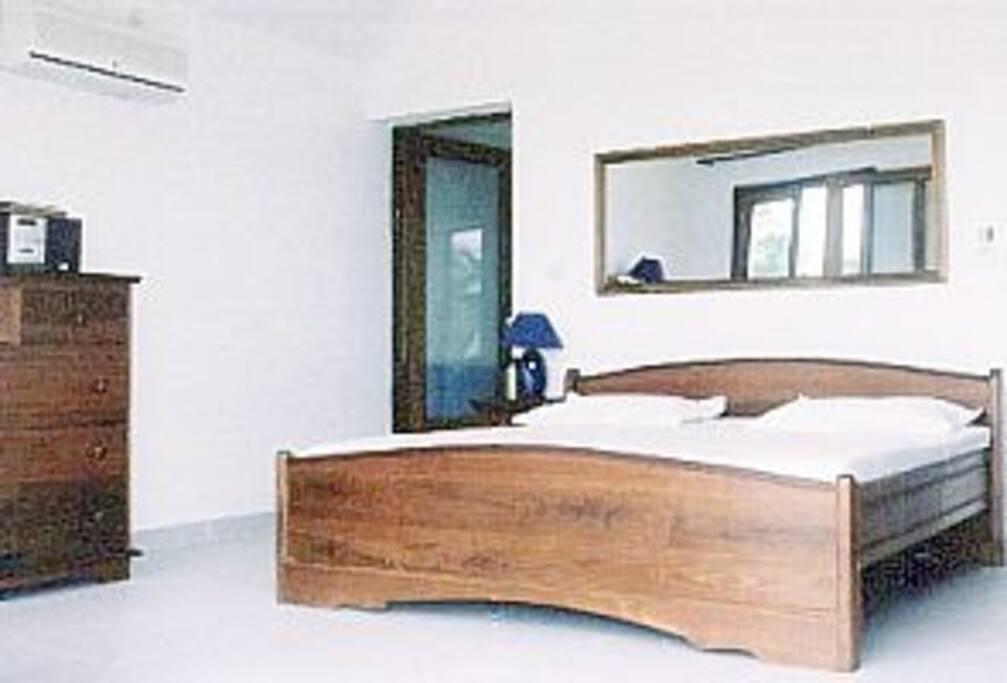 First floor main bedroom