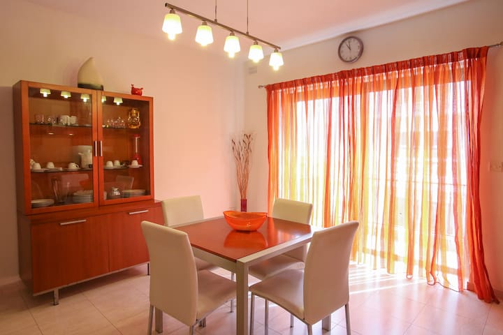 A central apartment in Sliema