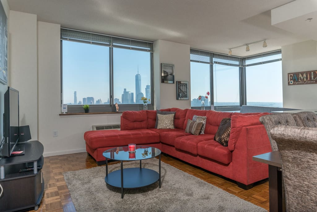 Panoramic Two Bedroom Suite With Breathtaking New York City Skyline Views 44qa Apartments For