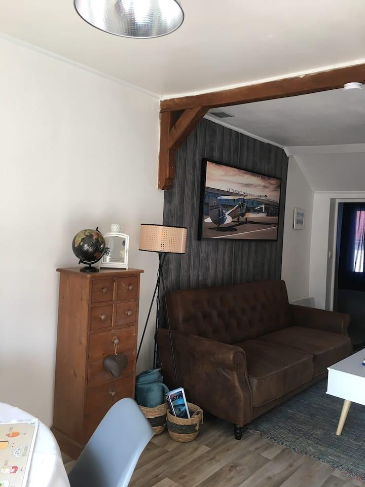 Appartement cosy en plein cœur du Touquet