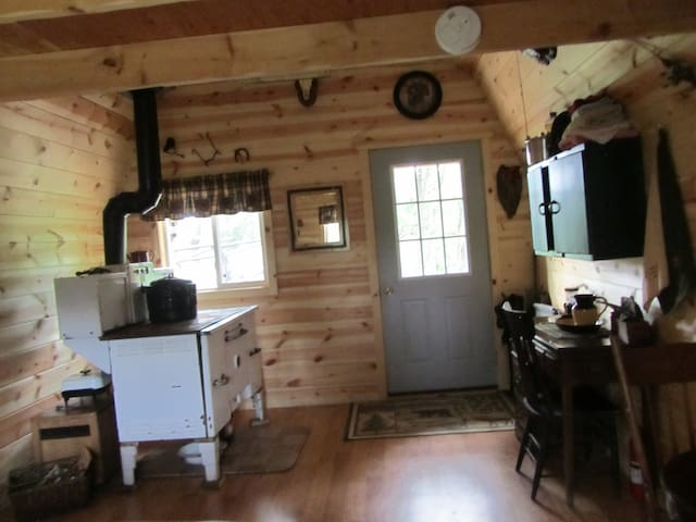 Secluded Rustic One Room Cabin - Boscobel