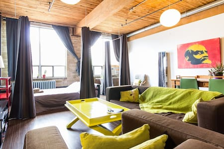 Rustic Loft in Old Town/Corktown TO