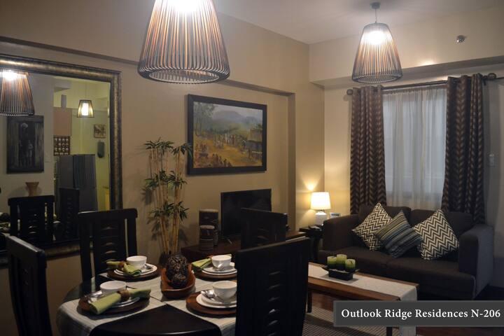 Outlook Ridge Residences N-206 with Balcony