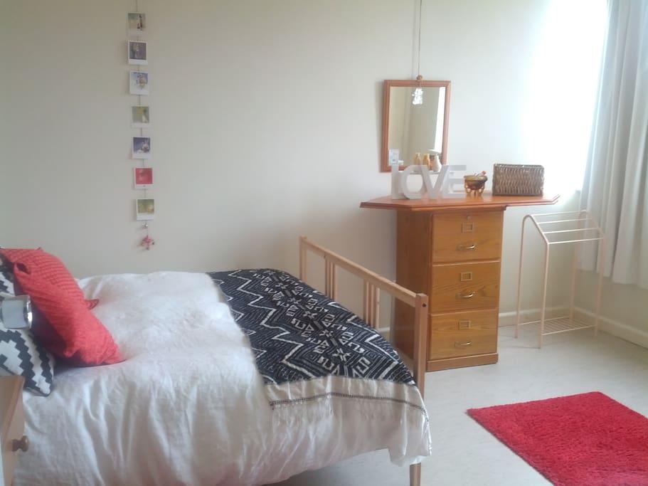 Charming, light and spacious room