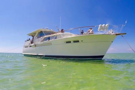 50 ft Classic Chris Craft Yacht Liveaboard - St Petersburg