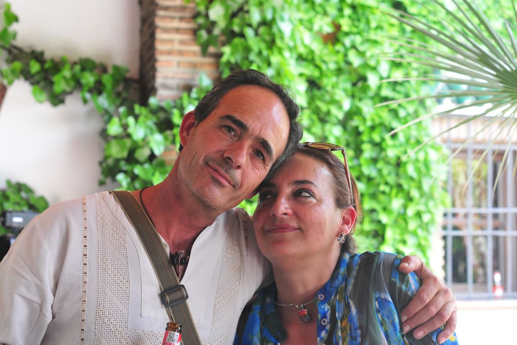 Housekeepers Antonio & Carmen look after our guests