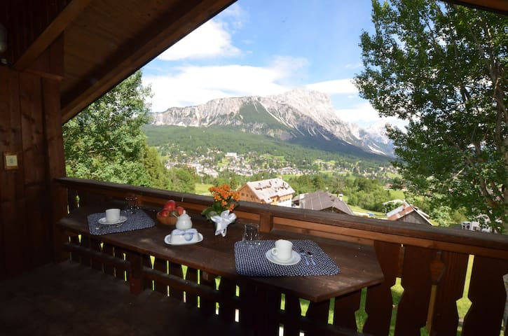 Cosy apartment with a wonderful view - 4 beds